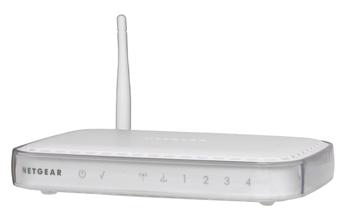 NetGear WGR614L router