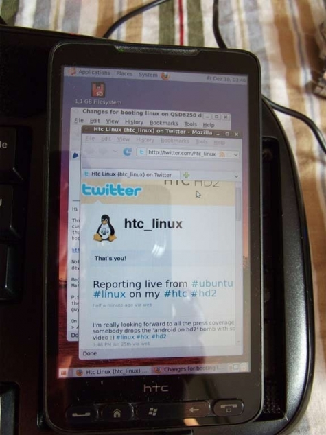 linux-on-htc-hd2