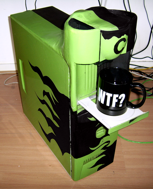 Coffee PC - Coffeemaking computer