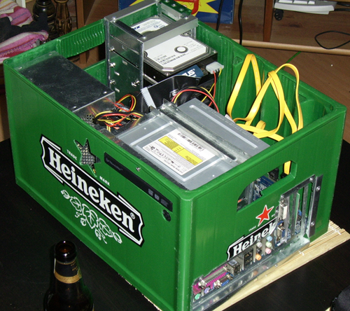 Beer Case PC - Computer built in a beercase