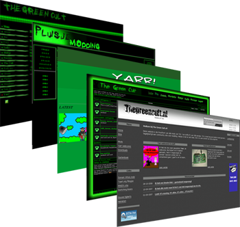 TheGreenCult History: 5 years worth of websites